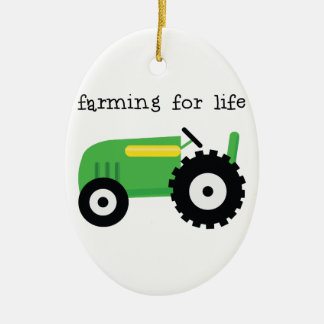 Farming For Life Christmas Ornament