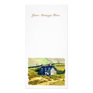 FARMING PHOTO GREETING CARD
