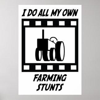 Farming Stunts Posters
