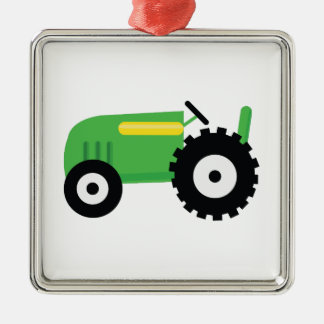 Farming Tractor Christmas Ornament