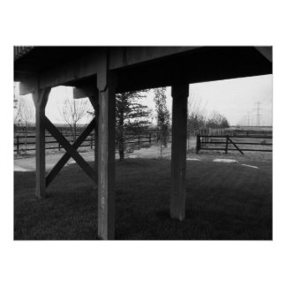 Farmington Utah Horse Farm Poster