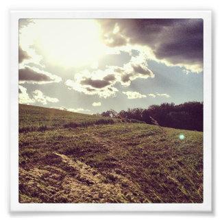 Farmland Flare Photo Print