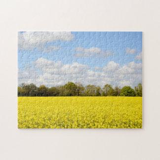 Farmland in summer jigsaw puzzle