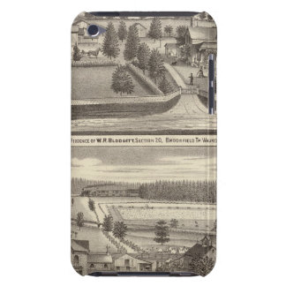 Farms and residences of WR Blodgett & GC Daubner Barely There iPod Cases