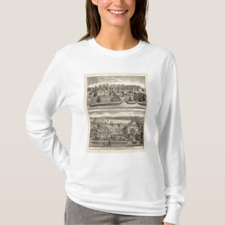 Farms and residences of WR Blodgett & GC Daubner T-Shirt