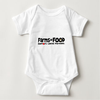 Farms=Food Tee Shirt