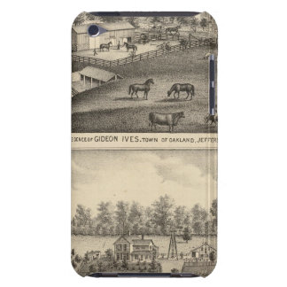 Farms of G Ives, Oakland, and A Wheeler, Pewaukee iPod Case-Mate Cases