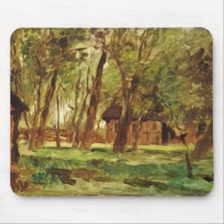 Farmstead under Trees Mouse Mat