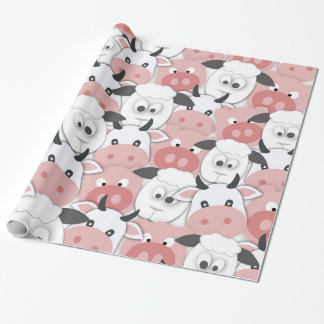 Farmyard Mix-Up! Wrapping Paper