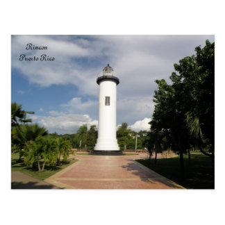 Faro de Rincon Puerto Rico Postcard