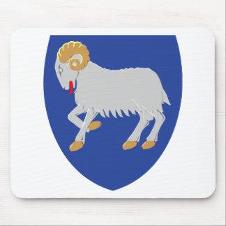 Faroe Islands Coat of arms FO Mouse Mat