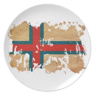 Faroe Islands Flag Plate