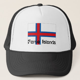 Faroe Islands  flag souvenir hat