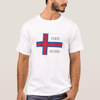 Faroe Islands flag souvenir tshirt