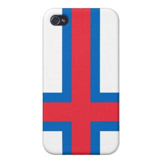 Faroe Islands National Nation Flag  iPhone 4/4S Case