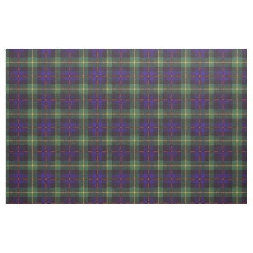 Farquarson clan Plaid Scottish tartan Fabric