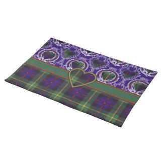 Farquarson Scottish Tartan Placemat