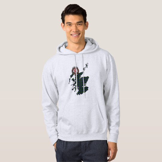 Farquharson Clan Badge Adult Hoodie