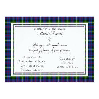 Farquharson Scottish Wedding Invitation