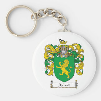 FARRELL FAMILY CREST -  FARRELL COAT OF ARMS KEY RING