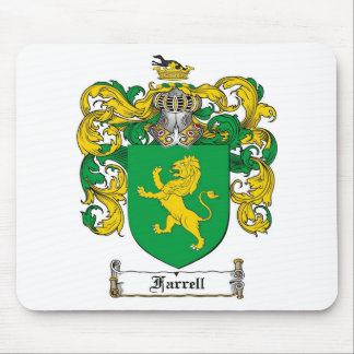 FARRELL FAMILY CREST -  FARRELL COAT OF ARMS MOUSE MAT