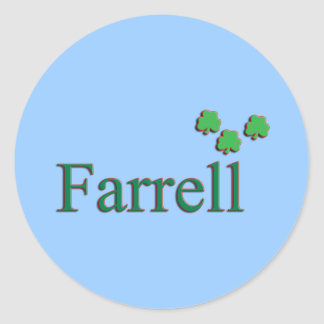 Farrell Family Round Sticker