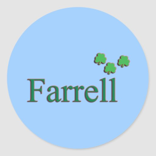 Farrell Family Stickers