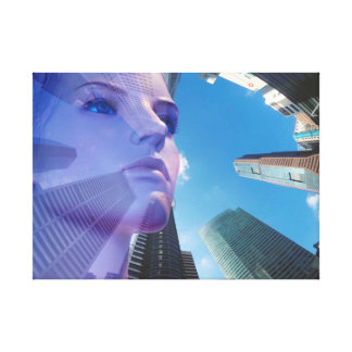 Farsightedness - distance vision - fantasy canvas print