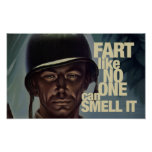 Fart like no one can smell it poster