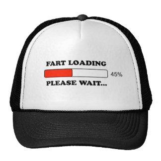 Fart loading cap