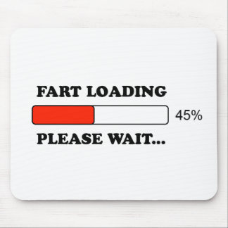 Fart loading mouse pad