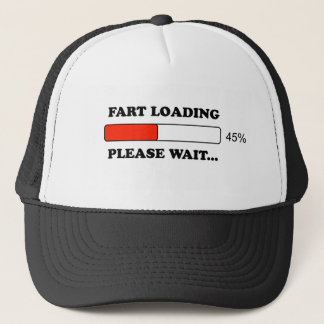Fart loading trucker hat