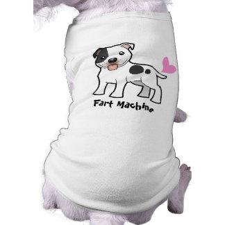 Fart Machine (Staffordshire Bull Terrier) Shirt