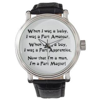 Fart Master Watch