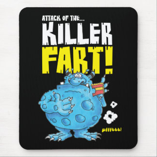 fart monster pad mouse mat