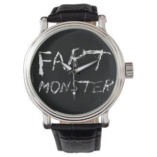 Fart Monster Wrist Watches