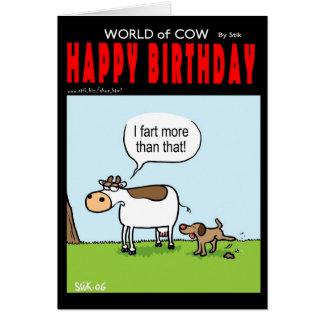Fart More... Greeting Card