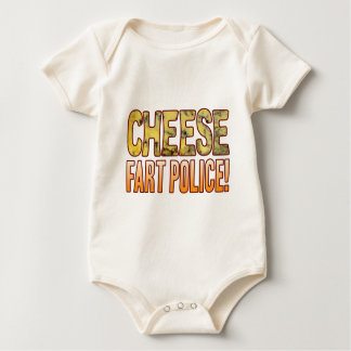 Fart Police Blue Cheese Baby Bodysuit