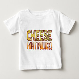 Fart Police Blue Cheese Baby T-Shirt