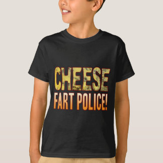 Fart Police Blue Cheese T-Shirt