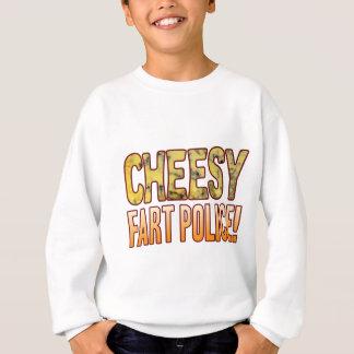 Fart Police Blue Cheesy Sweatshirt