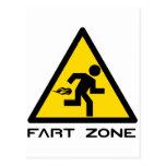 Fart Zone Postales