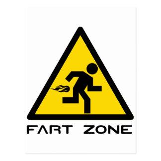 Fart Zone Postcard