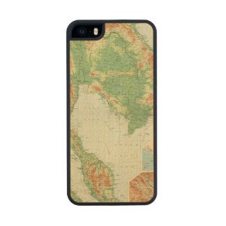 Farther India Carved® Maple iPhone 5 Slim Case