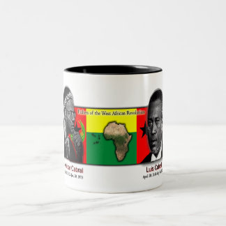 farthers of west african revolution Two-Tone coffee mug