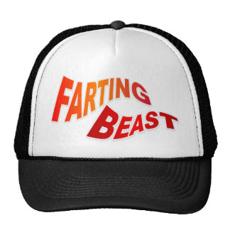 FARTING BEAST - hilarious innuendo humor Hats