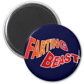 FARTING BEAST - hilarious innuendo humor Magnet