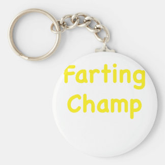 Farting Champ Keychains