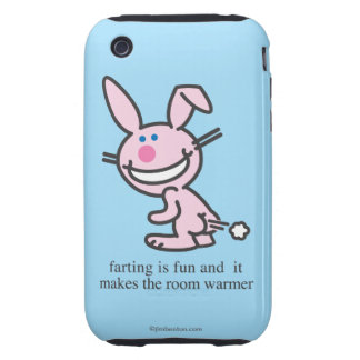 Farting is Fun iPhone 3 Tough Covers