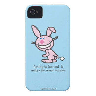 Farting is Fun iPhone 4 Covers